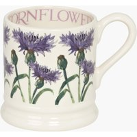 Flowers Cornflower 1/2 Pint Mug.