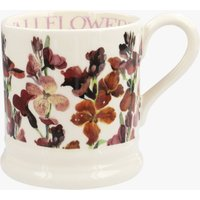 Seconds Red Wallflowers 1/2 Pint Mug