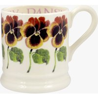 Seconds Pansy 1/2 Pint Mug