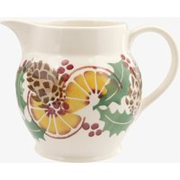 Holly and Berry Wreath 1 1/2 Pint Jug