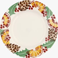 Seconds Holly and Berry Wreath 8 1/2 plate