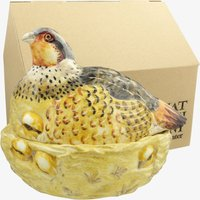 Hand Painted Partridge Boxed