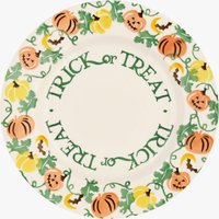 Halloween 'Trick or Treat' 8 1/2 Plate