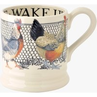 Hen & Toast Wake up Lg Hen 1/2 Pint Mug