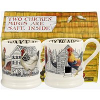 Hen & Toast Set of 2 1/2 Pint Mugs Boxed