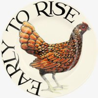 Seconds Rise & Shine Early to Rise 6 1/2 Plate