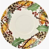 Seconds Holly Wreath Saucer