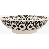 Seconds Indian Sponge Large Fluted Dish