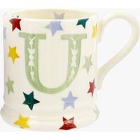 Seconds Polka Stars Alphabet U 1/2 Pint Mug