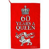 Jubilee 60 Years a Queen Tea Towel