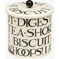 Black Toast Biscuit Tin