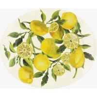 Seconds Vegetable Garden Lemons Medium Oval Platter