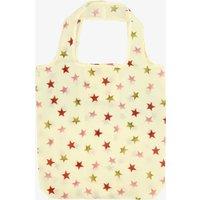 Pink & Gold Star RPET Foldaway Bag