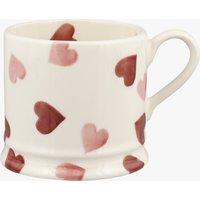 Pink Hearts Small Mug