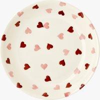 Pink Hearts Pasta Bowl