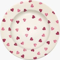 Pink Hearts 10 1/2 Plate