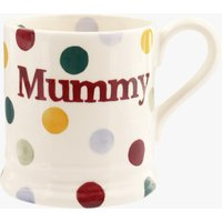 Seconds Polka Dot 'Mummy' 1/2 Pint Mug