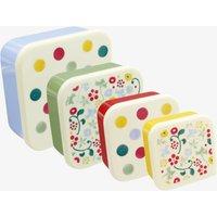 Polka Dot Set of 4 Snack boxes