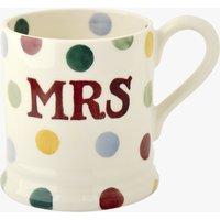 Seconds Polka Dot Mrs 1/2 Pint Mug