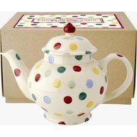Polka Dot 4 Mug Teapot Boxed