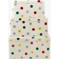 Polka Dot Set of 3 Square Cake Tins