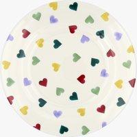 Polka Hearts Melamine Plate