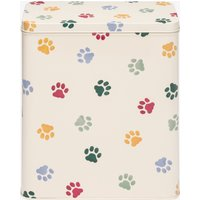 Polka Paws Tall Wide Rectangular Storage Tin