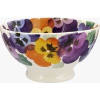 Seconds Purple Pansy French Bowl