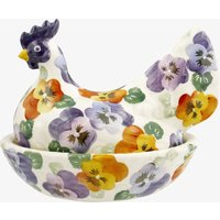 Seconds Purple Pansy Hen On Nest