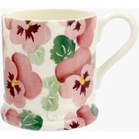 Pink Pansy 1/2 Pint Mug