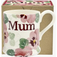 Pink Pansy Mum 1/2 Pint Mug