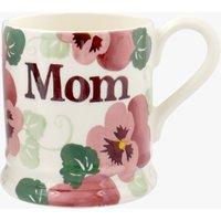 Pink Pansy MOM 1/2 Pint Mug