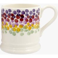 Seconds Rainbow Dots 1/2 Pint Mug