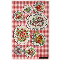 Red Gingham Picnic Tea Towel.