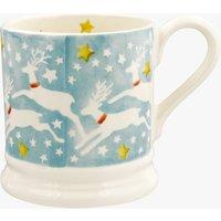 Seconds Reindeer in the Sky 1/2 Pint Mug
