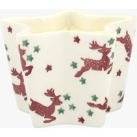 Reindeer Small Star Candle