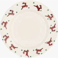 Reindeer  10 1/2  Plate