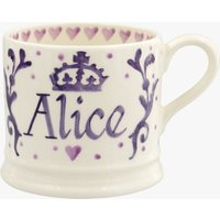 Personalised Royal Baby Purple Small Mug at Emma Bridgewater