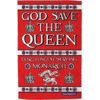 God Save the Queen Tea Towel