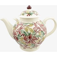 Seconds Red Stargazer Lily Gallon Teapot