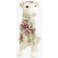 Seconds Red Stargazer Lily Right Terrier Statue