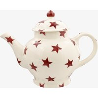 Red Star 4 Mug Teapot
