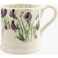 Sweet Pea Purple 1/2 Pint Mug