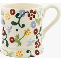 Seconds Spring Floral 1/2 Pint Mug