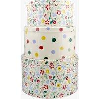 Spring Floral Set of 3 Round Cake Tins