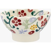 Seconds Spring Floral Small Fluted Bowl