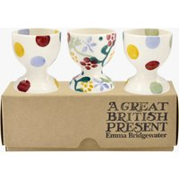 Spring Floral Set of 3 Egg Cups