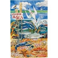 River & Shore Under The Sea Tea Towel.