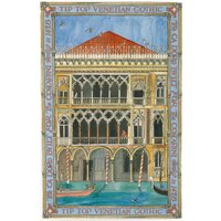 Cities of Dreams Venice Tea Towel.