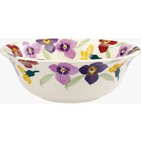 Purple Wallflower Cereal Bowl